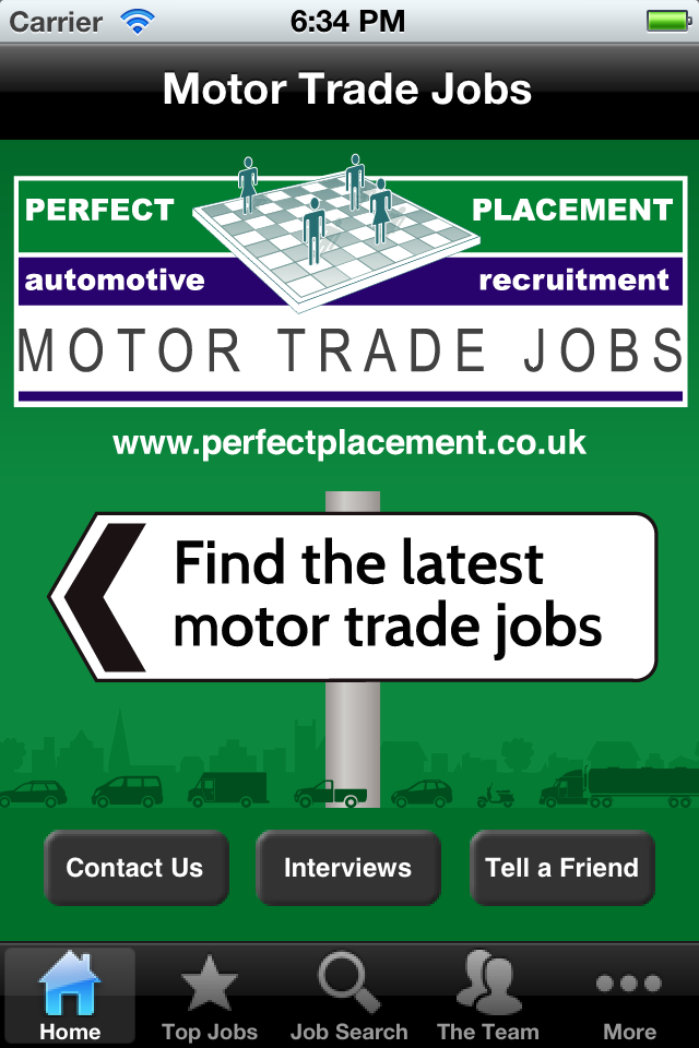 Motor Trade Jobs Business Social Networking Free App For