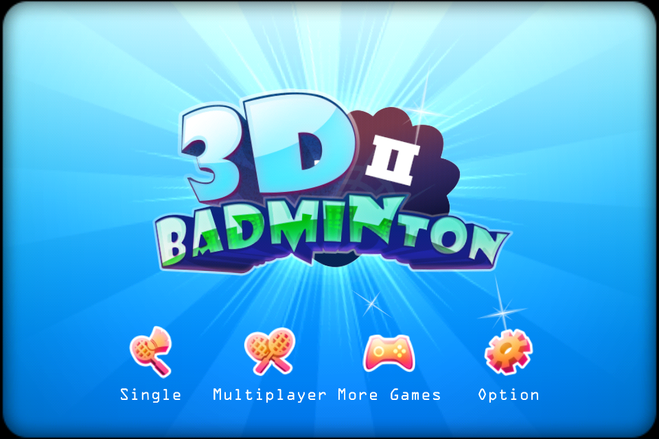 Screenshot 3D Badminton II